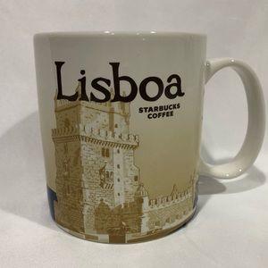 Starbucks Lisboa Icon Series Mug Cup 16oz 2013